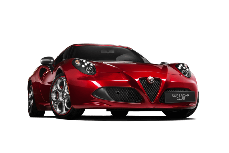 Location Supercar Alfa Romeo 4C