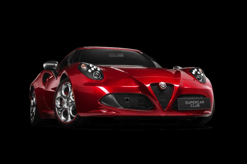 Location Supercar Alfa Romeo 4C
