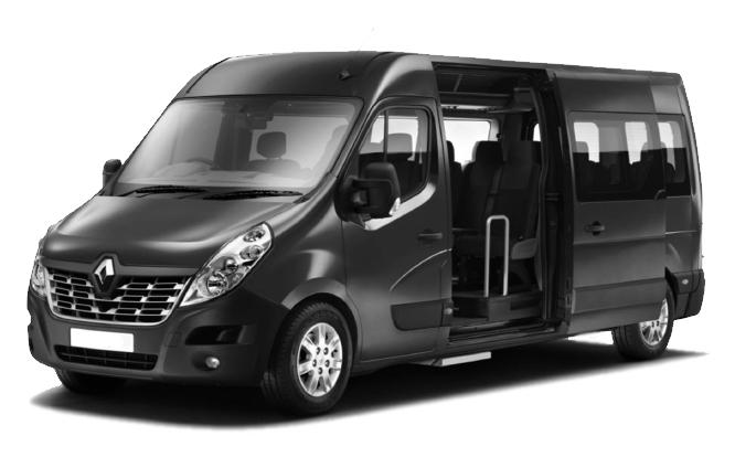 Location minibus 14pl Renault Master