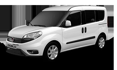 Fiat Doblo au gaz naturel blanche